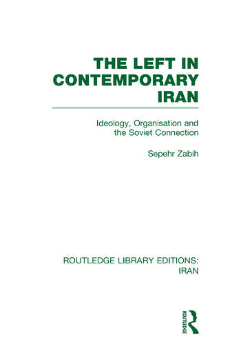 The Left in Contemporary Iran (RLE Iran D) book cover