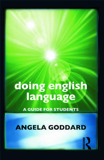 Doing English Language A Guide for Students book cover