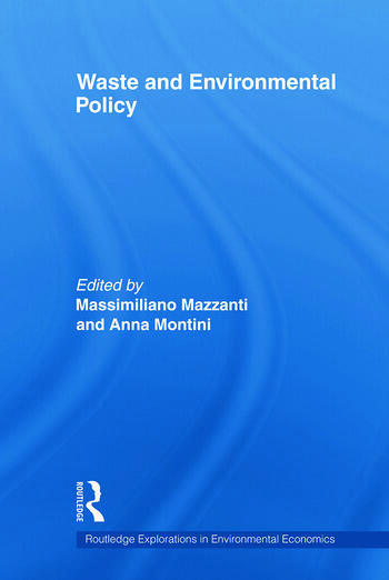 Waste and Environmental Policy book cover