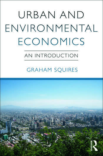 Urban and Environmental Economics An Introduction book cover