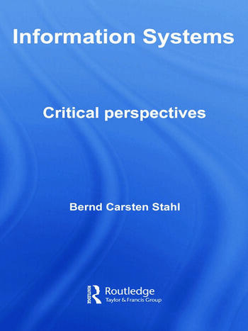 Information Systems Critical Perspectives book cover