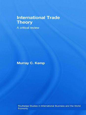 International Trade Theory A Critical Review book cover
