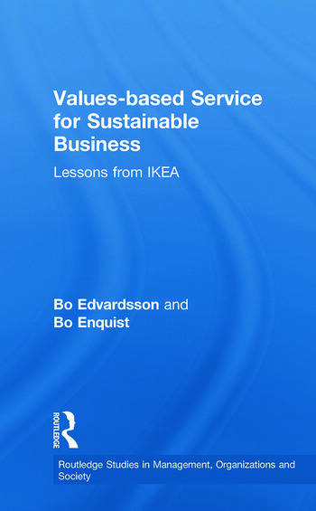 Values-based Service for Sustainable Business Lessons from IKEA book cover