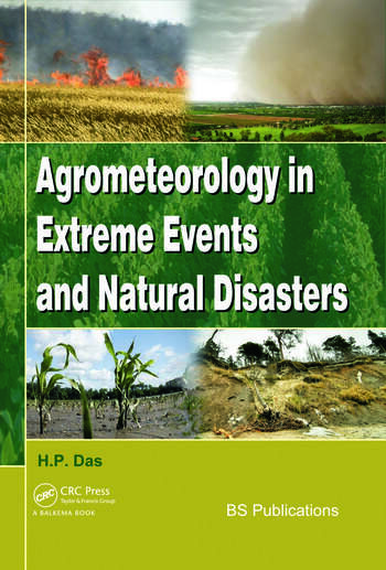 Agrometeorology in Extreme Events and Natural Disasters book cover