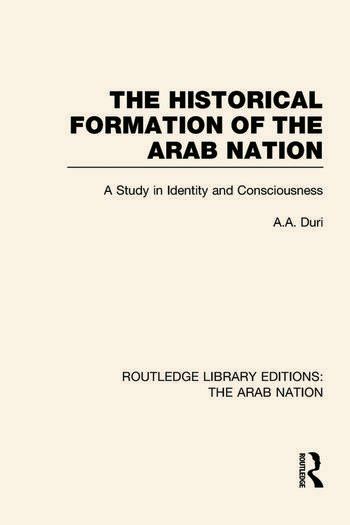 Routledge Library Editions: The Arab Nation book cover