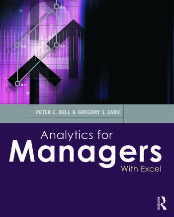 Analytics for Managers With Excel book cover