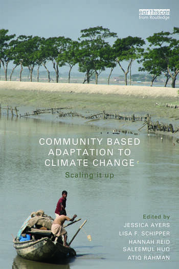 Community-Based Adaptation to Climate Change Scaling it up book cover