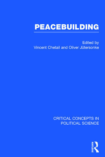 Peacebuilding book cover