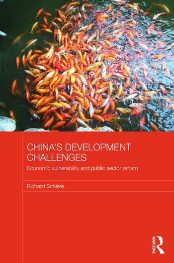 China's Development Challenges Economic Vulnerability and Public Sector Reform book cover