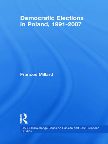 Democratic Elections in Poland, 1991-2007 book cover