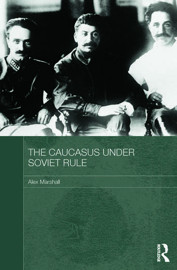 The Caucasus Under Soviet Rule book cover