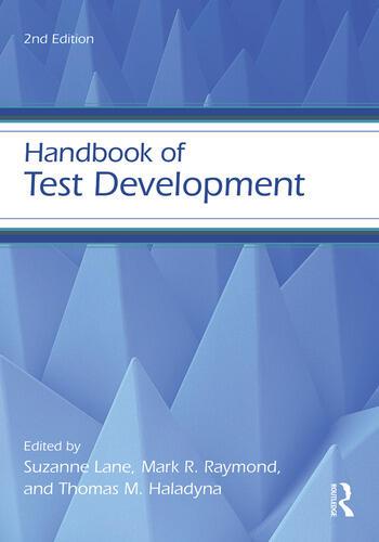 Handbook of Test Development book cover
