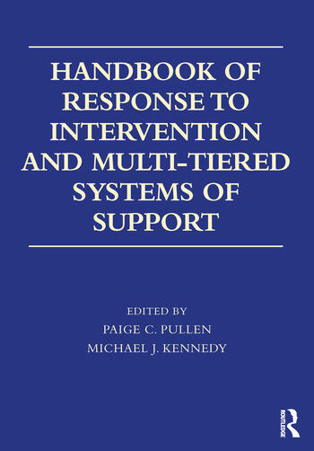 Handbook of Response to Intervention and Multi-Tiered Systems of Support book cover