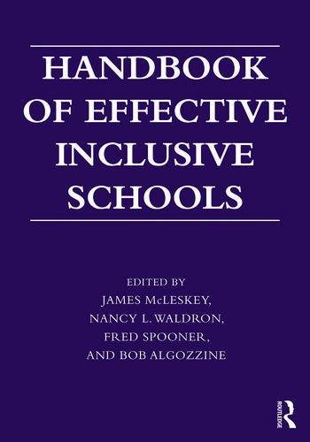 Handbook of Effective Inclusive Schools Research and Practice book cover