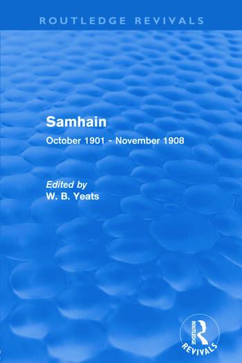 Samhain October 1901 - November 1908 book cover