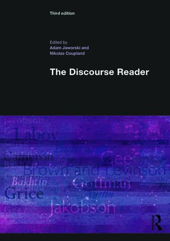 The Discourse Reader book cover