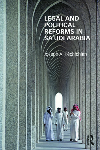 Legal and Political Reforms in Saudi Arabia book cover