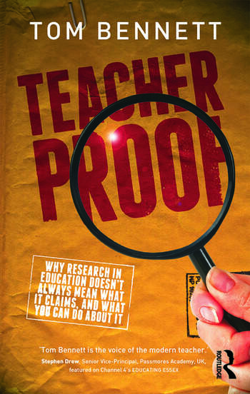 Teacher Proof Why research in education doesn't always mean what it claims, and what you can do about it book cover