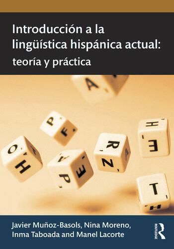 Introducción a la lingüística hispánica actual teoría y práctica book cover