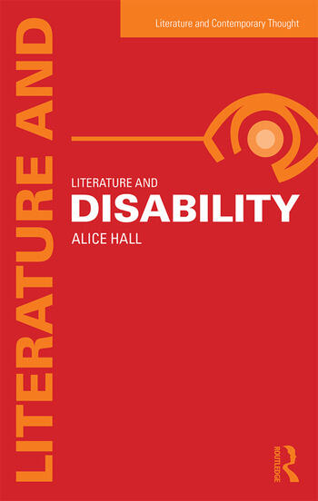 Literature and Disability book cover