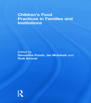 Children's Food Practices in Families and Institutions book cover