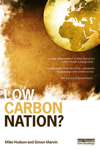 Low Carbon Nation? book cover
