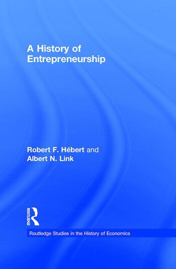 A History of Entrepreneurship book cover