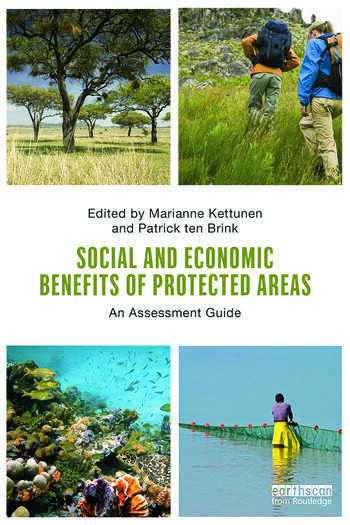 Social and Economic Benefits of Protected Areas An Assessment Guide book cover