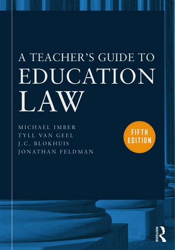 A Teacher's Guide to Education Law book cover