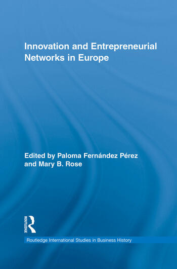 Innovation and Entrepreneurial Networks in Europe book cover
