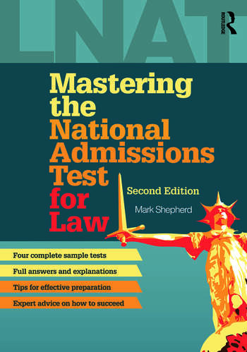 Mastering the National Admissions Test for Law book cover
