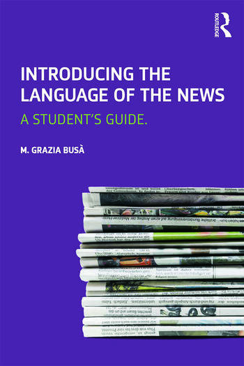 Introducing the Language of the News A Student's Guide book cover