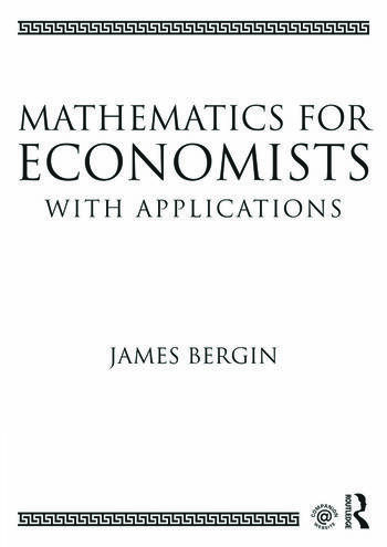 Mathematics for Economists with Applications book cover