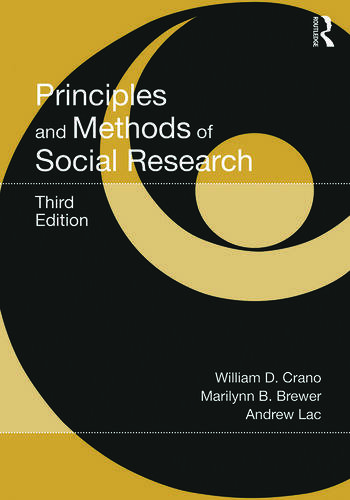 Principles and Methods of Social Research book cover
