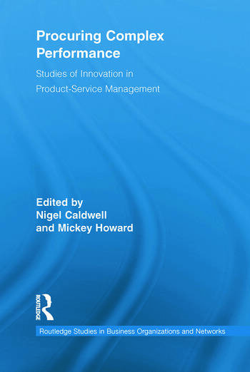 Procuring Complex Performance Studies of Innovation in Product-Service Management book cover