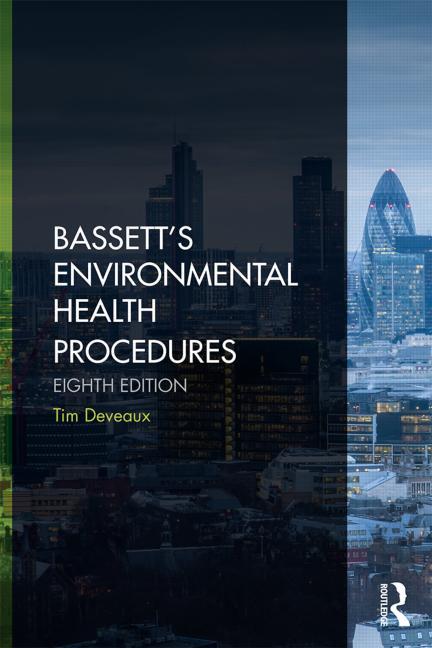 Bassett's Environmental Health Procedures book cover