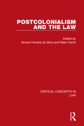 Postcolonialism and the Law book cover