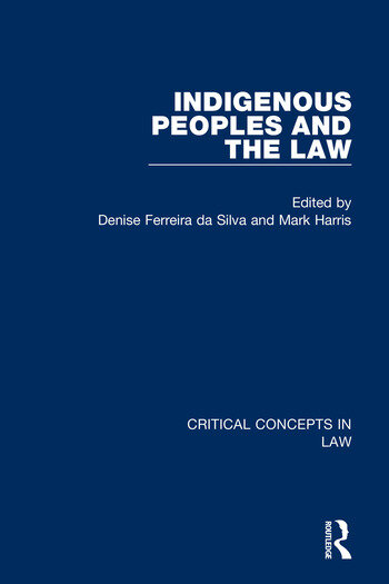 Indigenous Peoples and the Law book cover