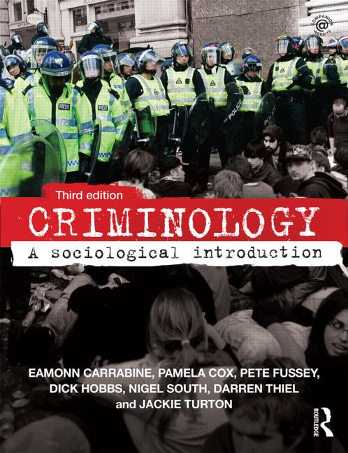 Criminology A Sociological Introduction book cover