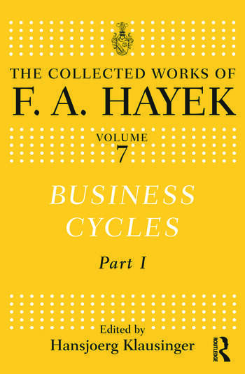 Business Cycles Part I book cover