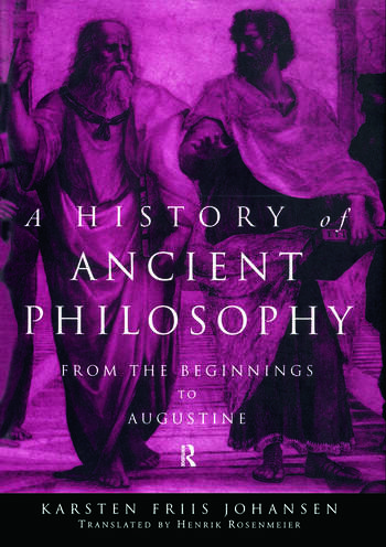 A History of Ancient Philosophy From the Beginning to Augustine book cover