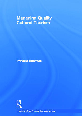 Managing Quality Cultural Tourism book cover