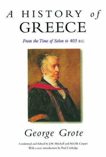 A History of Greece From the Time of Solon to 403 BC book cover