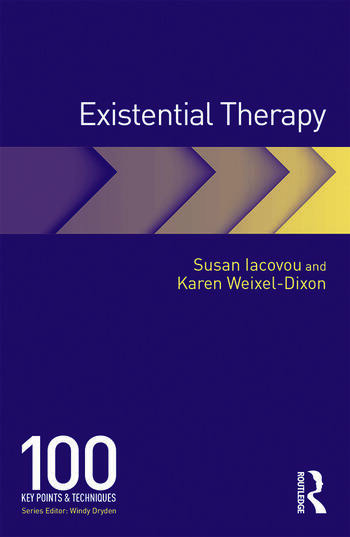 Existential Therapy 100 Key Points and Techniques book cover
