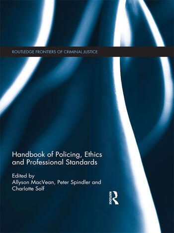 Handbook of Policing, Ethics and Professional Standards book cover