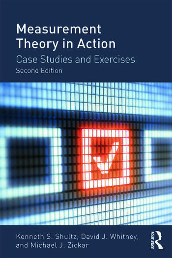 Measurement Theory in Action Case Studies and Exercises, Second Edition book cover