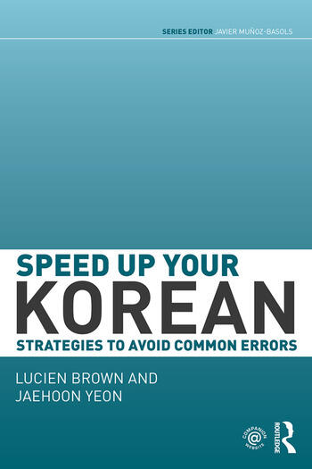 Speed up your Korean Strategies to Avoid Common Errors book cover
