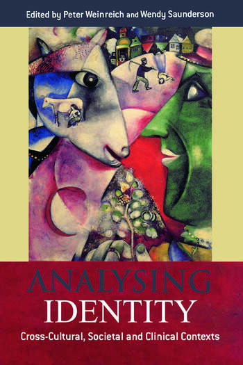 Analysing Identity Cross-Cultural, Societal and Clinical Contexts book cover