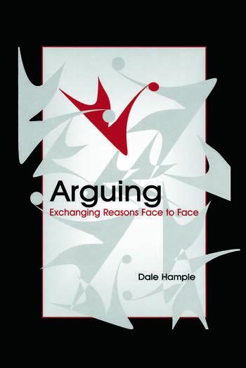Arguing Exchanging Reasons Face to Face book cover