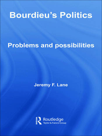Bourdieu's Politics Problems and Possiblities book cover